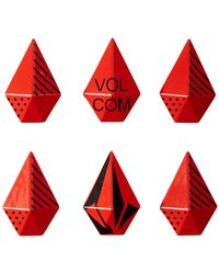 Volcom Stone Studs Stomp Pad - Red