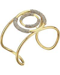 Vince Camuto - Cuff Bracelet (gold/crystal) Bracelet - Lyst