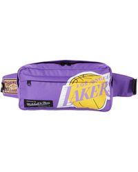 Mitchell & Ness Nba Fanny Pack Lakers - Purple