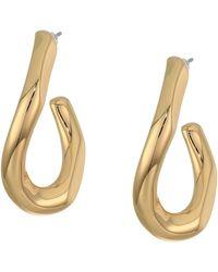 Rebecca Minkoff Link Earrings - Metallic