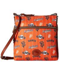 Dooney & Bourke - Mlb Crossbody Bag (yankees) Cross Body Handbags - Lyst