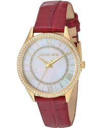 Michael Kors - Lauryn - Mk2756 (red) Watches - Lyst