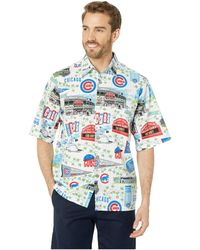 673a6293a Reyn Spooner - Chicago Cubs Hawaiian Shirt (scenic) Men's Clothing - Lyst