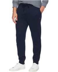 Polo Ralph Lauren - Luxury Jersey Pants (polo Black) Men's Casual Pants - Lyst