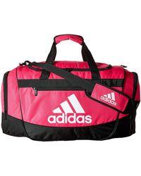 adidas Defender Iii Medium Duffel Bags - Black