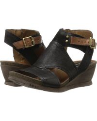 Miz Mooz - Scout (black) Women's Wedge Shoes - Lyst