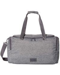 Vera Bradley Recycled Lighten Up Reactive Travel Duffle Bag - Gray