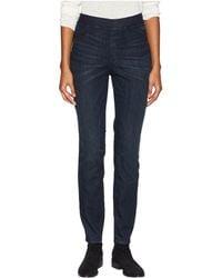 Eileen Fisher - Organic Cotton Soft Stretch Denim Jeggings In Utility Blue (utility Blue) Women's Jeans - Lyst