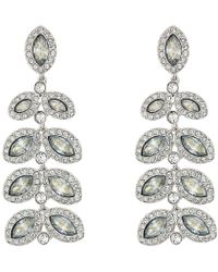 Swarovski - Baron Pierced Earrings - Lyst