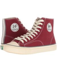 PF Flyers - All American Hi (light Petrol Canvas) Men's Lace Up Casual Shoes - Lyst