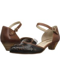 Pikolinos - Elba W4b-5829 (black) Women's Hook And Loop Shoes - Lyst