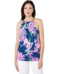 Lilly Pulitzer Bowen Top - Blue
