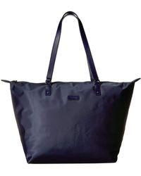 Lipault Lady Plume Tote Bag M - Blue