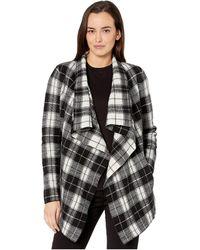 Lauren by Ralph Lauren Open-front Wool Sweater - Black