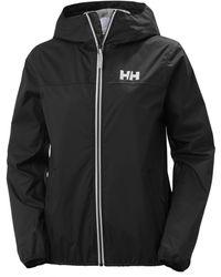 Helly Hansen Belfast Packable Rain Jacket Black