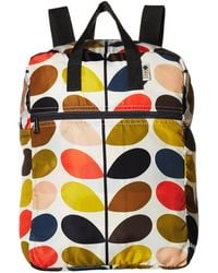 Orla Kiely - Multi Stem Packaway Backpack - Lyst