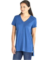 Life Is Good. Create Your Own Sunshine Freestyle Wash Tunic - Blue