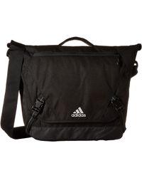 adidas - Sport Id Messenger (black/tiger Style Camo Emboss) Messenger Bags - Lyst