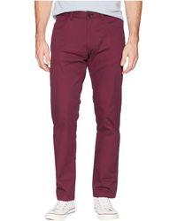 Calvin Klein - Four-pocket Slim Sateen Pants (deep Moss) Men's Casual Pants - Lyst