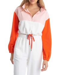 Juicy Couture Mixed Media French Popover - Orange