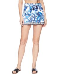 Tommy Bahama - Fuller Fronds Pull-on Short Cover-up - Lyst