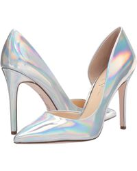 32cc225170e Jessica Simpson - Pheona (irridescent Mirror Iris) Women s Shoes - Lyst