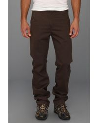 Carhartt Washed Twill Dungaree - Brown