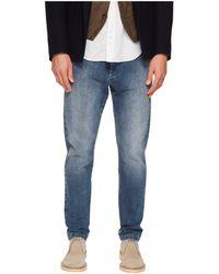 Eleventy - Cotton Stretch Jogger Jeans In Denim (denim) Men's Jeans - Lyst