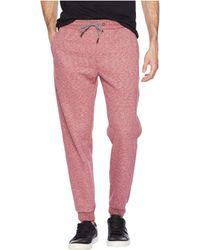 Rip Curl - Destination Fleece Pants (red) Men's Casual Pants - Lyst
