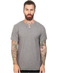 Alternative Apparel - Organic Pima Moroccan (oxford Grey Heather) Men's Clothing - Lyst