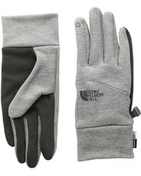 The North Face - Etiptm Gloves (tnf Dark Grey Heather) Extreme Cold Weather Gloves - Lyst