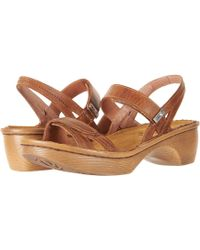 Naot - Brussels (vintage Ash Leather) Women's Sandals - Lyst