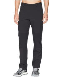 adidas Originals Synthetic Terrex Hike Trousers in Black for