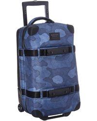 Burton - Wheelie Flight Deck Travel Luggage (cocoa Brown Waxed Canvas) Luggage - Lyst