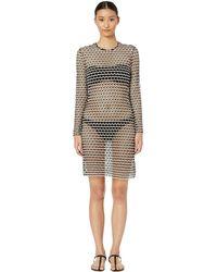 Flagpole Swim - Adelaide Dress (ivory/black) Women's Dress - Lyst
