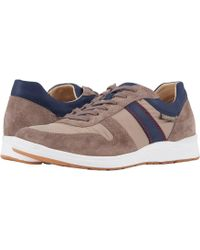 Mephisto - Vito Sport (mulberry Suede/dark Grey Riko/blue) Men's Lace Up Casual Shoes - Lyst