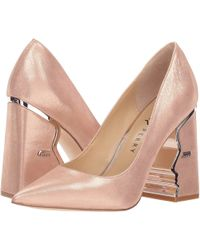 Katy Perry - The Celina (sterling Pink Metallic Nubuck) Women's Shoes - Lyst