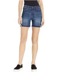 Liverpool Jeans Company Vickie Release Hem Shorts - Blue
