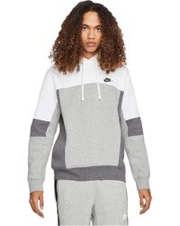 Nike - Nsw Pullover Color-block Hoodie Clothing - Lyst