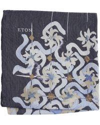Eton of Sweden - Watercolor Design Pocket Square - Lyst