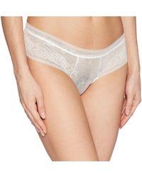 Eberjey - Adora - The Classic Lace Boythong (ivory) Women's Underwear - Lyst