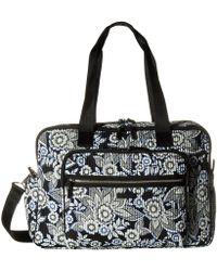 Vera Bradley - Iconic Deluxe Weekender Travel Bag - Lyst