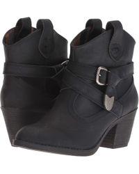 Rocket Dog - Satire (black Lewis) Women's Pull-on Boots - Lyst