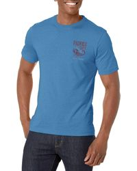 G.H. Bass & Co. Short Sleeve Graphic Print T-shirt - Blue