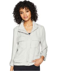 Jack BB Dakota - Zoey Rayon Twill Lightweight Jacket - Lyst