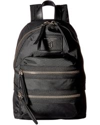 Marc Jacobs Nylon Biker Mini Backpack Backpack Bags - Black
