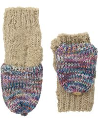 San Diego Hat Company Kng3466 Fingerless Marl Gloves - Multicolor