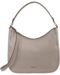 Kate Spade Roulette Large Hobo Bag - Natural