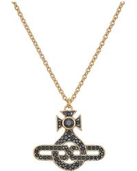 Vivienne Westwood - Man Infinity Pendant Necklace - Lyst