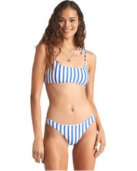 Billabong Blue By U Mini Crop Top